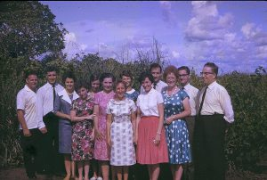 Brazilian missionaries (early 70's)